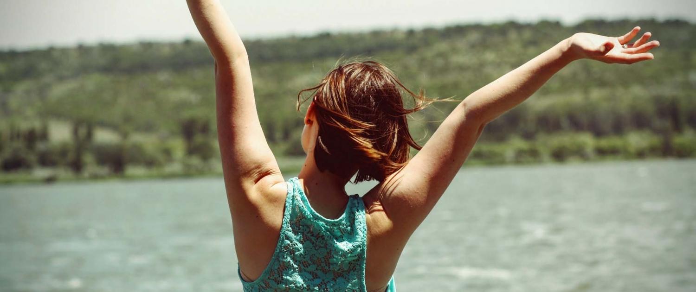 Flexible Hours happy girl