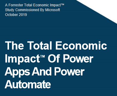 Forrester Power Automate Study
